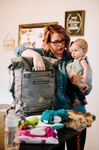 BIRTHFIT EmPack Diaper Bag + 2 Reservoirs