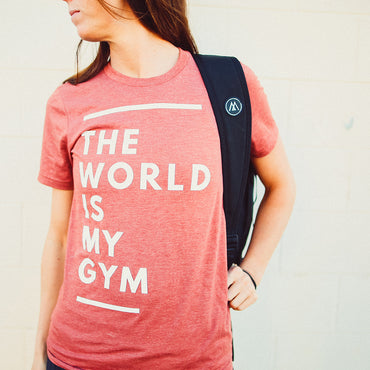 The World Is My Gym Tee