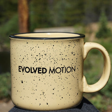 Evolved Motion Ceramic Mug