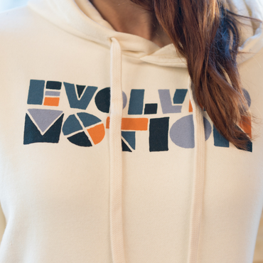 Evolved Motion Unisex Fleece Pullover Hoody