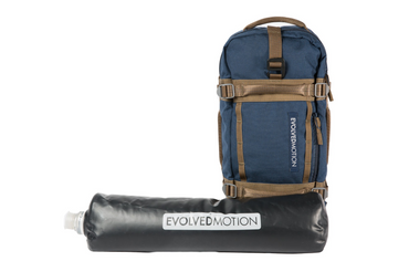 PREORDER: Navy Blue EmPack Nomad + 1 Reservoir + 1 Hydration Pack