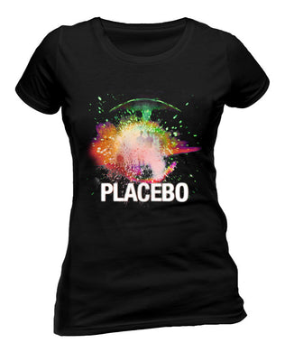 Placebo (Loud Like Love Album) Black Ladies T-Shirt