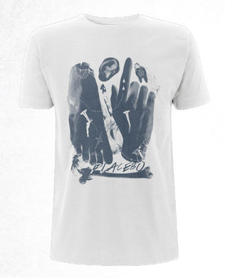 Placebo (Occult) White Mens T-Shirt