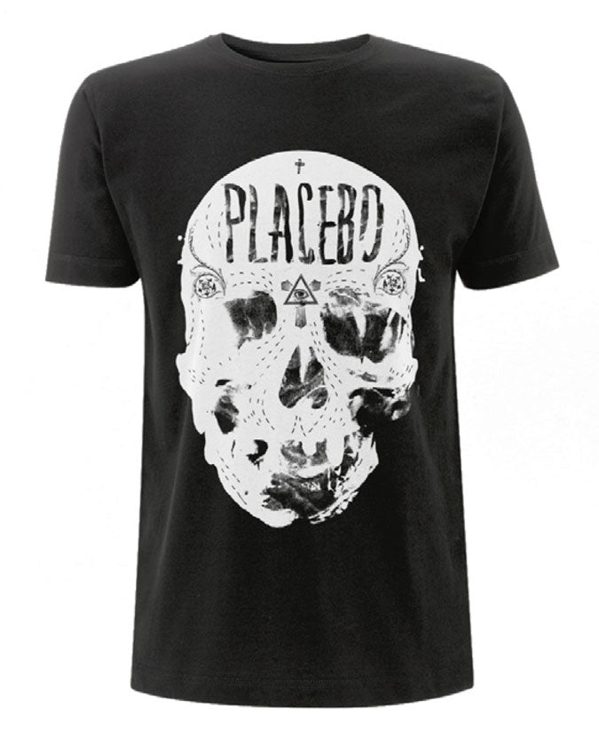 Placebo (Skull) Black Mens T-Shirt