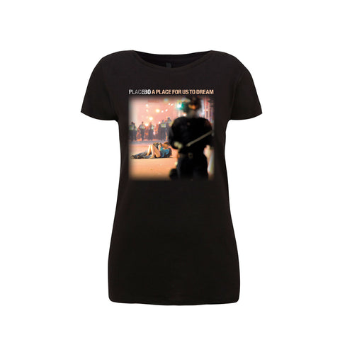 Placebo 'A Place For Us To Dream Tour 2016' Ladies Black T-Shirt