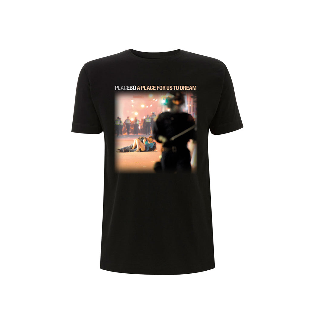 Placebo 'A Place For Us To Dream Tour 2016' Black T-Shirt