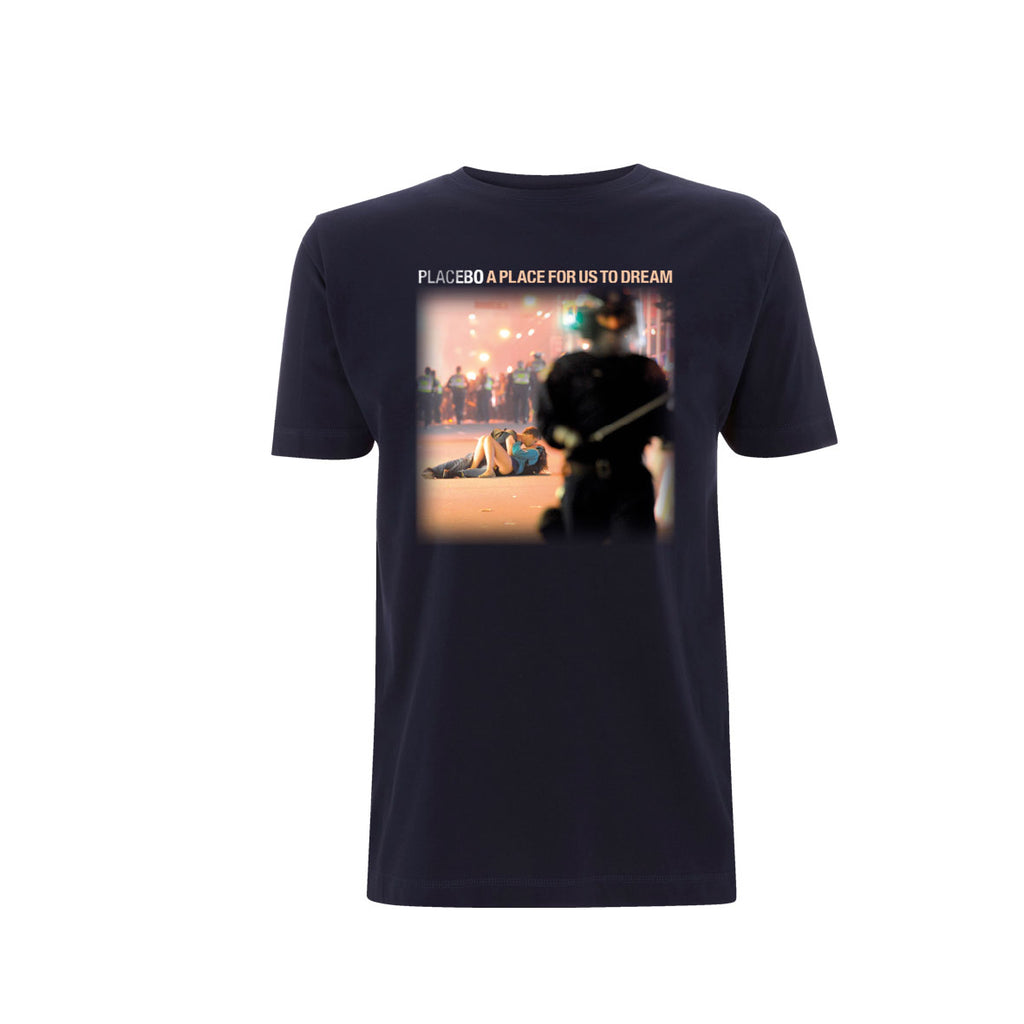 Placebo 'A Place For Us To Dream Tour 2016' Navy T-Shirt