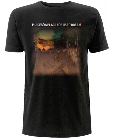Placebo 'A Place For Us To Dream LP03' Black T-Shirt