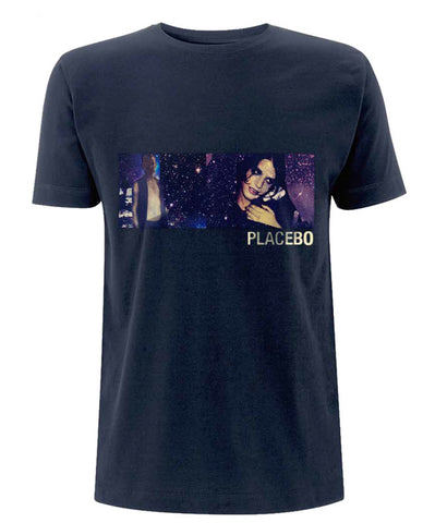Placebo 'APFUTD Photo' Denim Blue T-Shirt