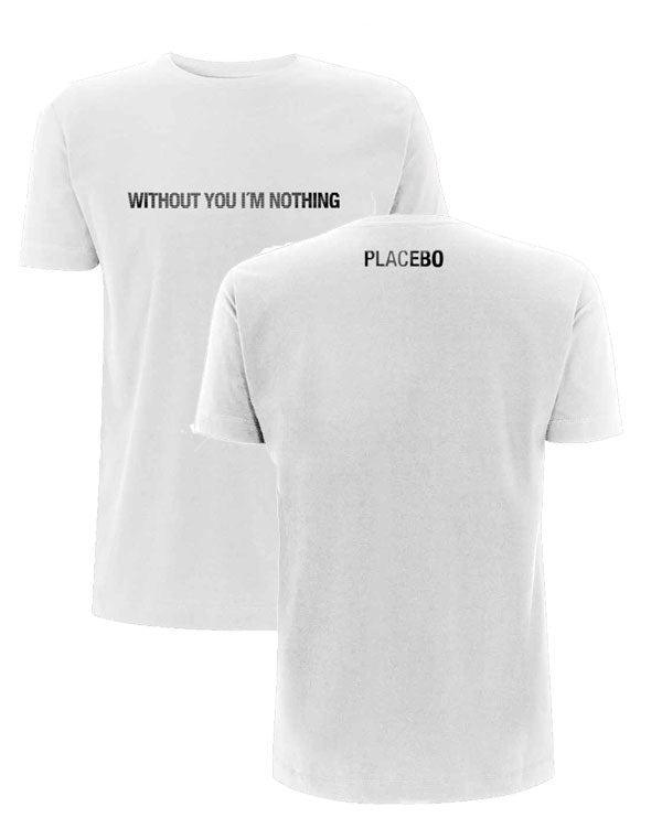Placebo 'Without You' White T-Shirt