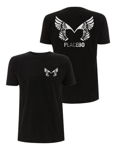 Placebo 'Wings' Black T-Shirt