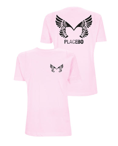 Placebo 'Wings' Pale Pink T-Shirt