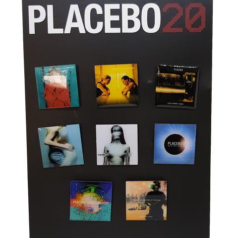 Placebo 'Album Covers' Badge Set
