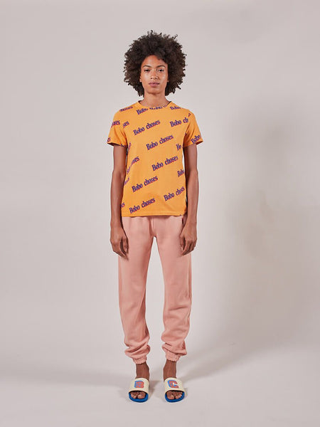 Fingers Crossed Pink Joggers by Bobo Choses