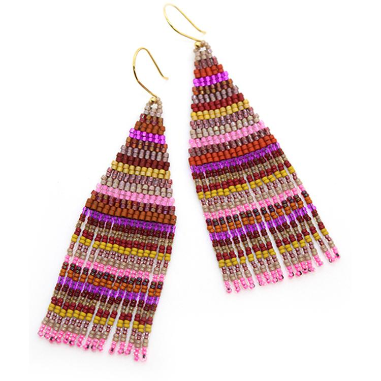 Danza Earrings in Berry by Bluma Project