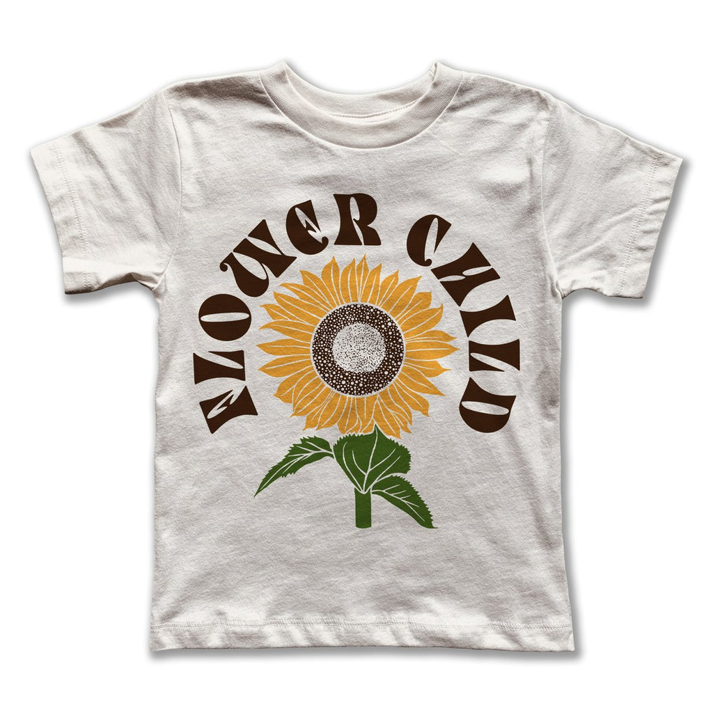 Kids Flower Child Tee by Rivet Apparel Co