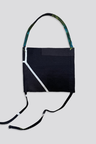 Kids Naylor Mask in Black by Rachel Comey