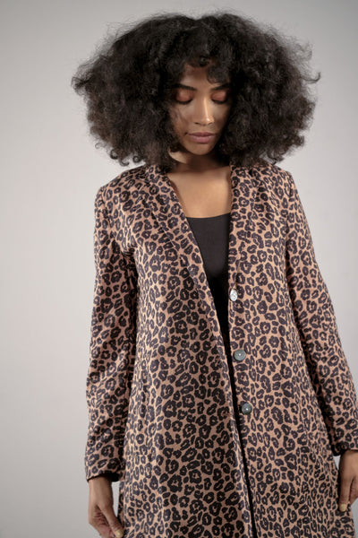 Ellary Jacket in Animal by Maria Stanley