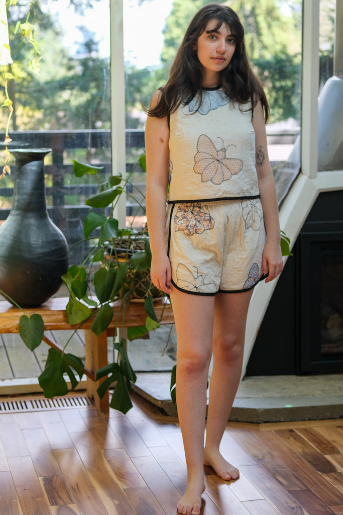 Butterfly Wings in Mint by Lovelane Designs