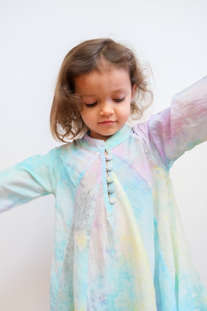 Kids Fiore Maxi in Rainbow Cloud by Natalie Martin