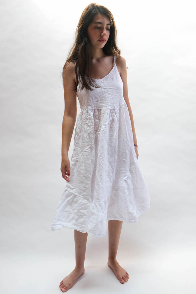 Sandrine Dress in White by CP Shades
