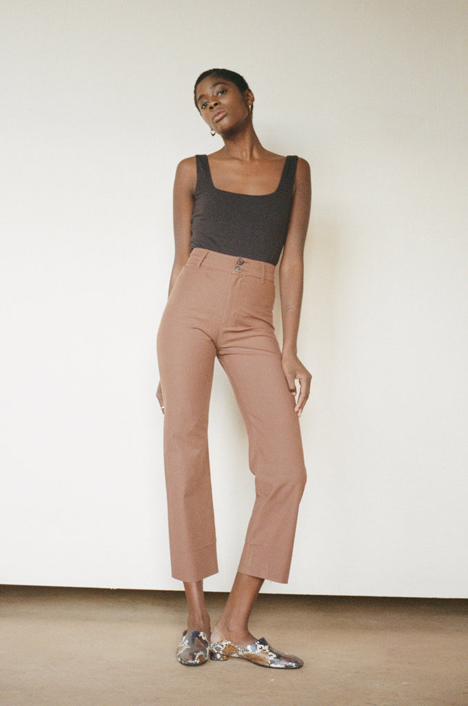 Luna Pant in Clove by Maria Stanley