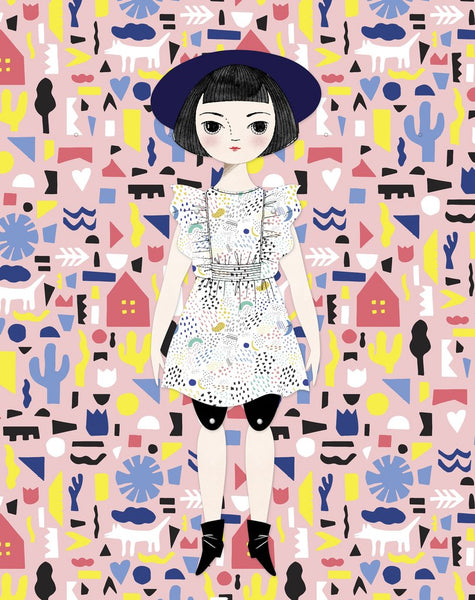 Olive Paper Doll Kit by Of Unusual Kind