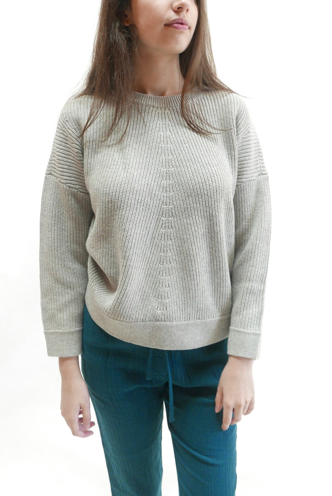 Rand Sweater in Silver Grey by Elk