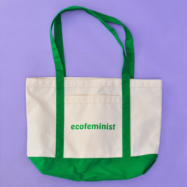 Canvas Ecofeminist Tote by Otherwild