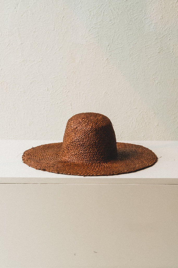 The Meadow Hat in Dark Brown by Brookes Boswell