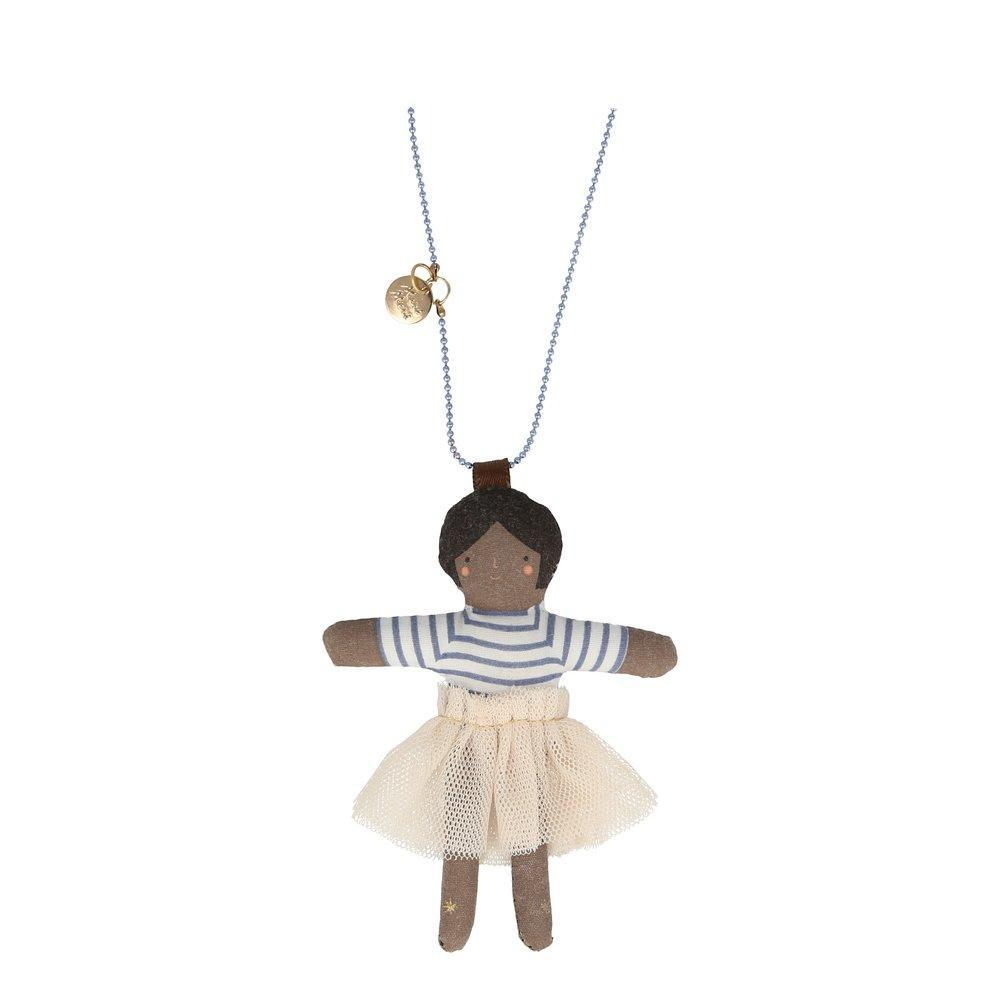 Ruby Doll Necklace by Meri Meri