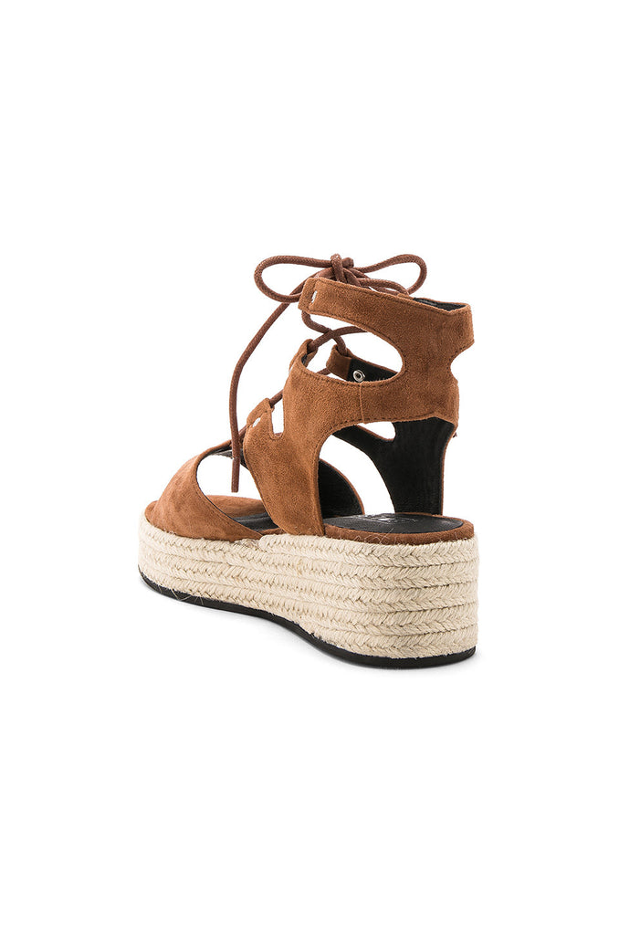 Ginger Wedge in Chestnut by Sol Sana