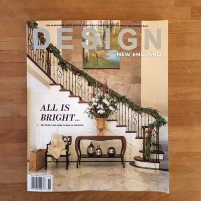 Featured in Design New England Magazine November/December 2015 issue
