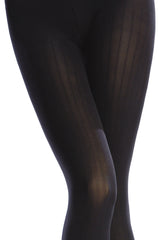 OPAQUE 3 Tights VERTICAL STRIPES 100D Honey