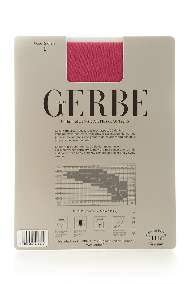 GERBE MOUSSE ALTESSE 20 Ροζ Καλσόν
