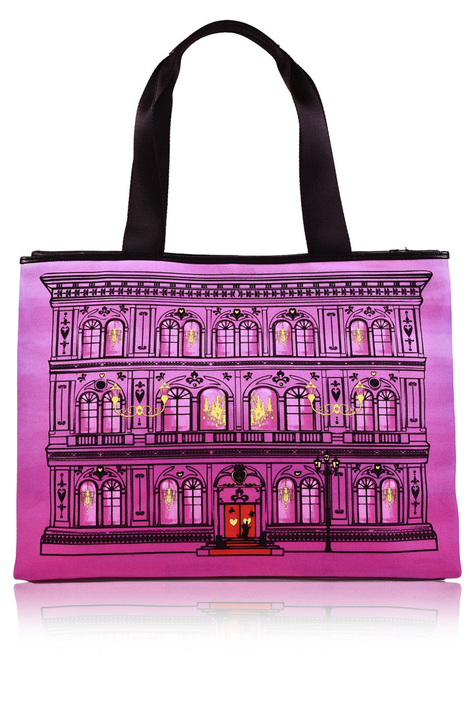 LOVE MOSCHINO PALAZZO Ροζ Τσάντα – PRET-A-BEAUTE.GR 8be19af4f50