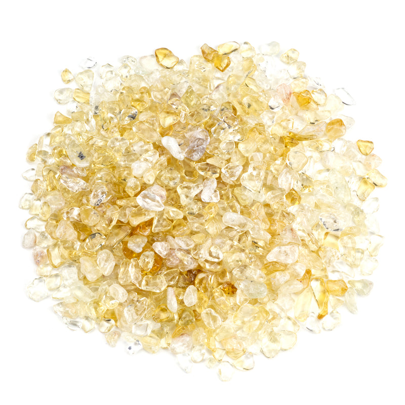 Polished Gemstone Chips | 1/2 Pound (Citrine)