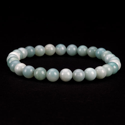 Stretch Bracelet | 6mm Beads (Amazonite)
