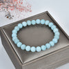 Stretch Bracelet | 8mm Beads (Amazonite Matte)