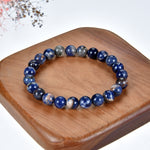 Stretch Bracelet | 8mm Beads (Orange Sodalite)