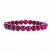 Stretch Bracelet | 8mm Beads (Pink Tiger's Eye)