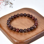 Stretch Bracelet | 8mm Beads (Red Brecciated Jasper)