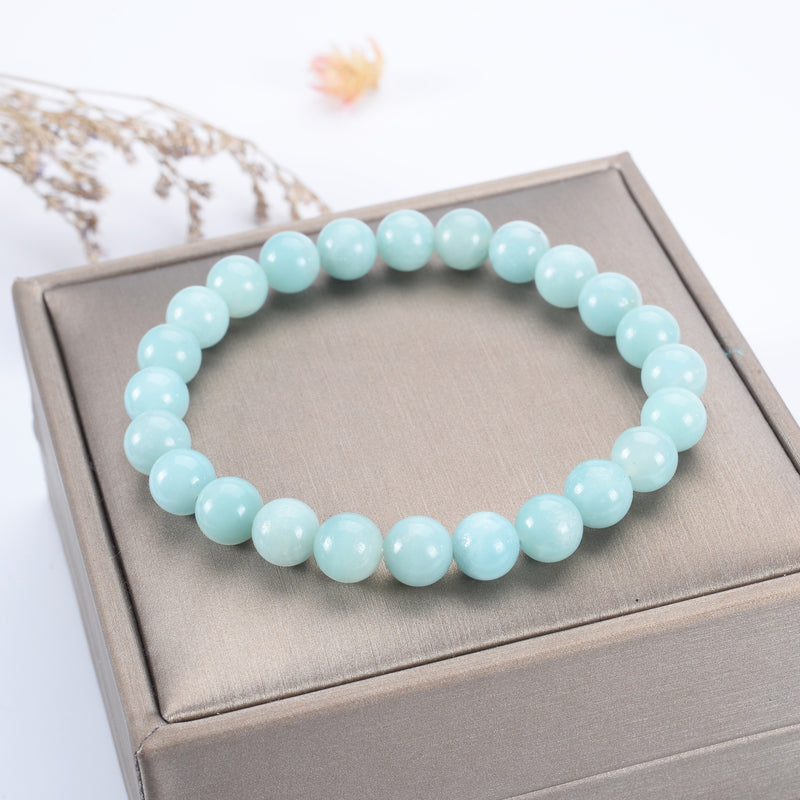 Stretch Bracelet | 8mm Beads (Amazonite AA)