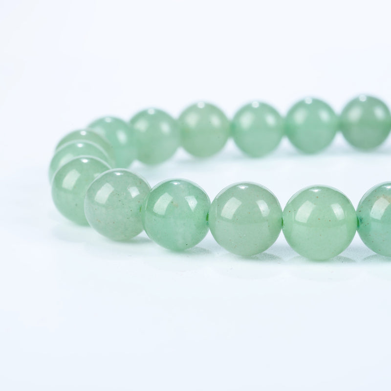 Stretch Bracelet | 8mm Beads (Green Aventurine)