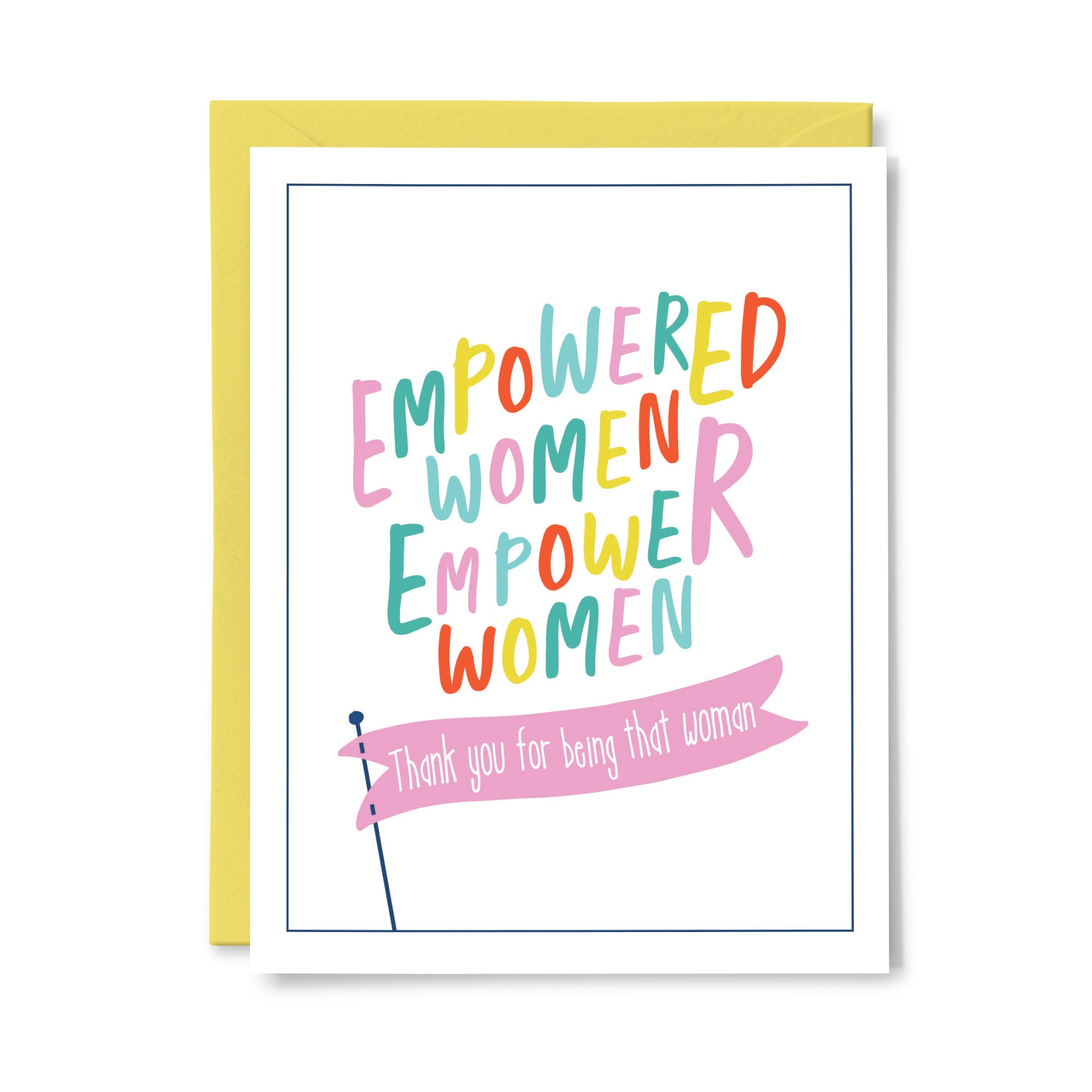 Empowered Women Card