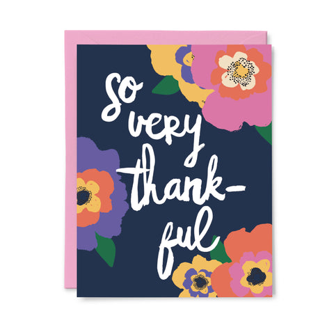So Very Thankful Card