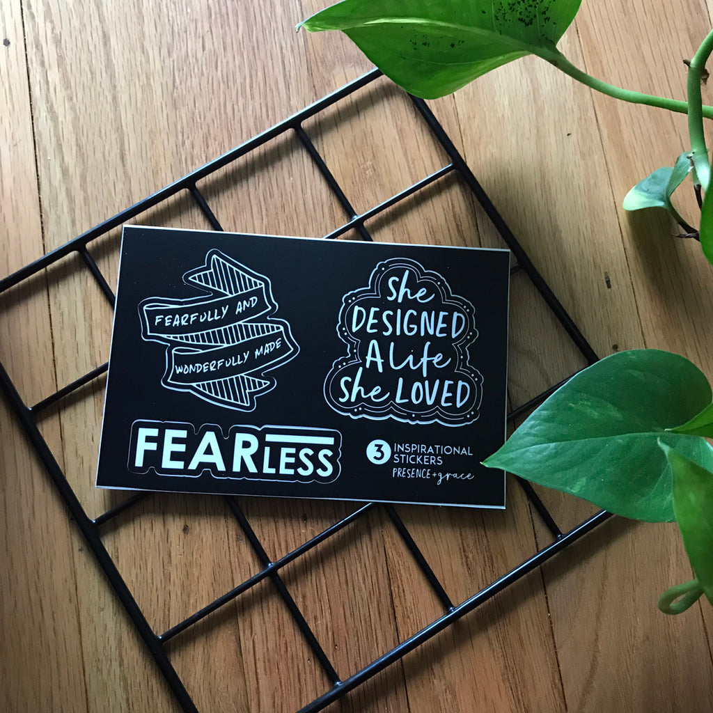 Fearless Sticker Sheet