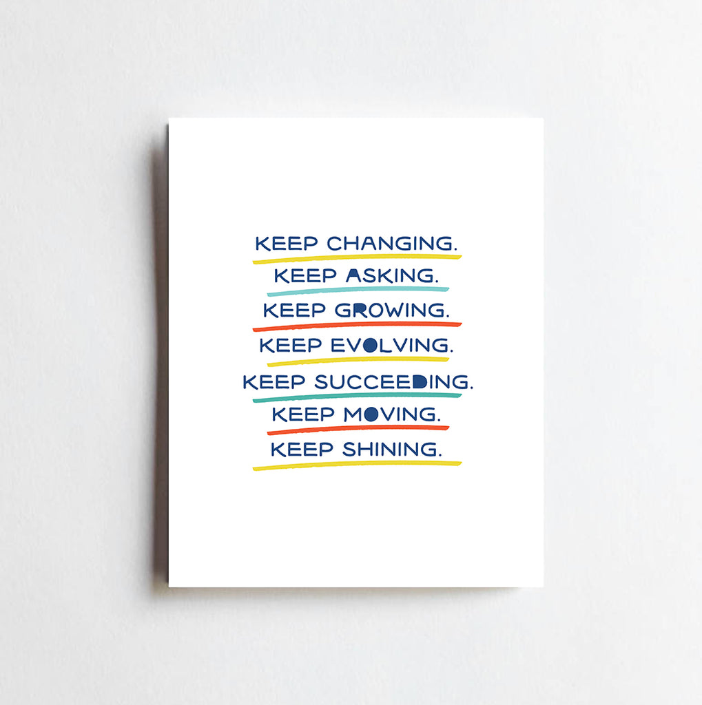 Keep Shining Art Print | 8 x 10