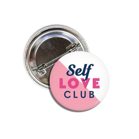 Self Love Club Button