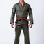 Black Label Jiu Jitsu Gi (Free White Belt) - Military Green